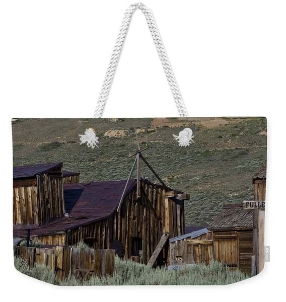 Weekender Tote Bag featuring the photograph Bodie 33 by Catherine Sobredo