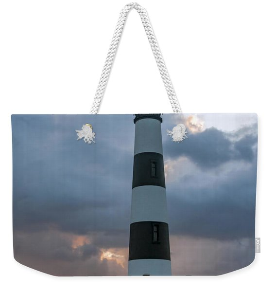 Bodie Island Lighthouse Sunset Weekender Tote Bag