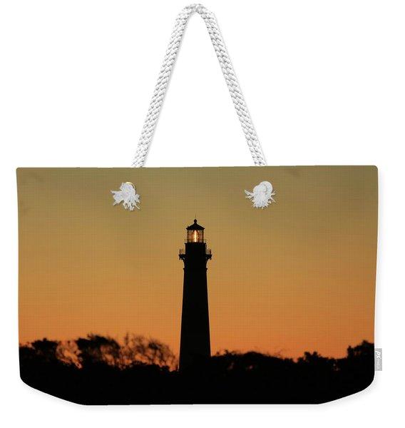 Bodie Light At Sunset Weekender Tote Bag
