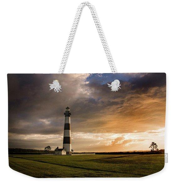 Bodie Lighthous Landscape Weekender Tote Bag