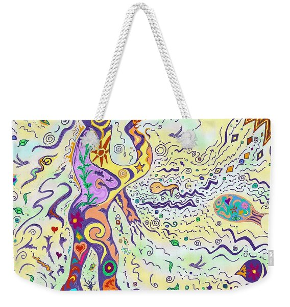 Bodies In Natural Flow Weekender Tote Bag
