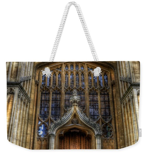 Bodleian Library Door - Oxford Weekender Tote Bag