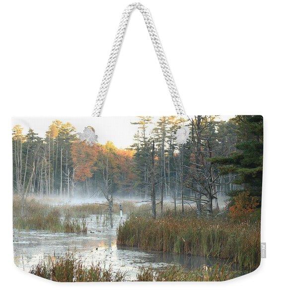 Bog Fog Weekender Tote Bag