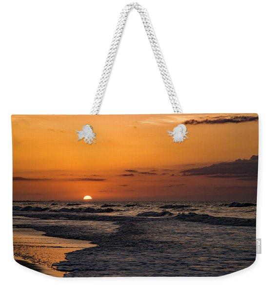 Bogue Banks Sunrise Weekender Tote Bag