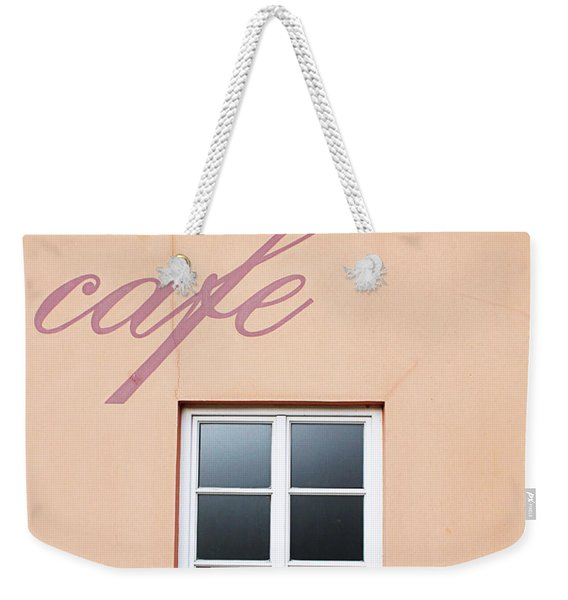 Bohemian Cafe- By Linda Woods Weekender Tote Bag
