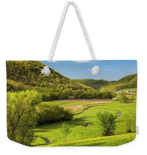 Bohemian Valley Weekender Tote Bag