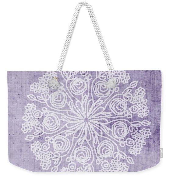 Boho Floral Mandala 1- Art By Linda Woods Weekender Tote Bag