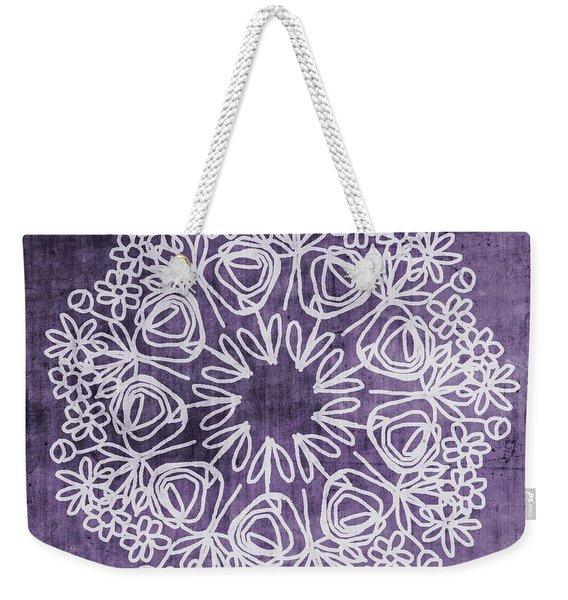 Boho Floral Mandala 2- Art By Linda Woods Weekender Tote Bag