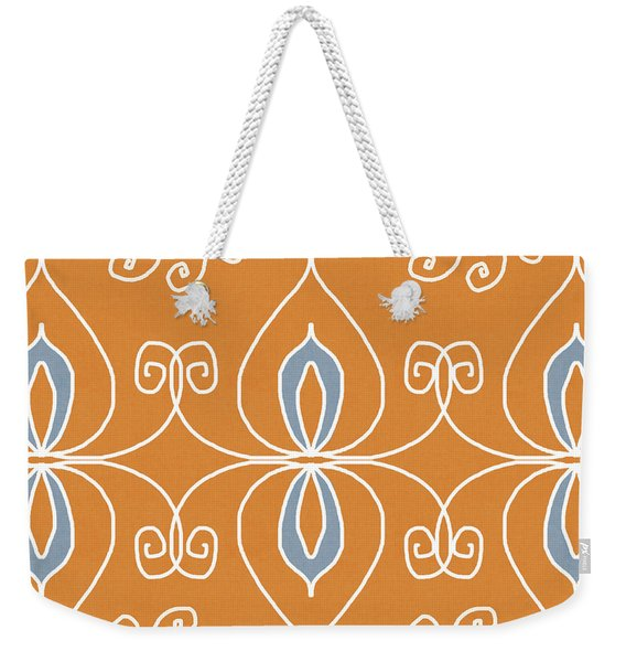Boho Ornamental 1- Art By Linda Woods Weekender Tote Bag