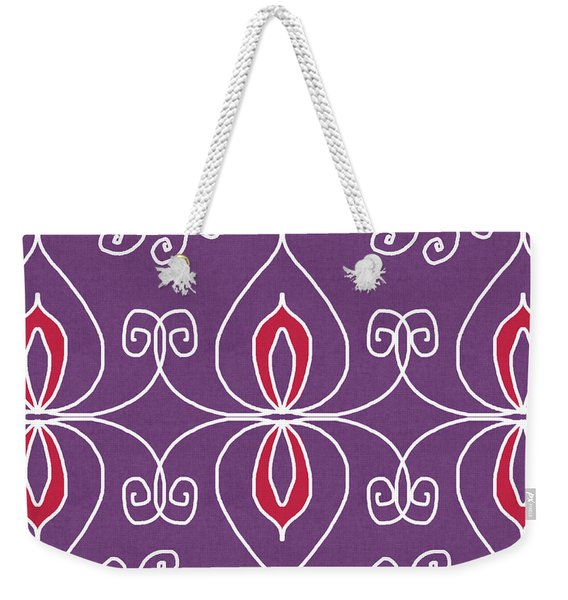 Boho Ornamental 2- Art By Linda Woods Weekender Tote Bag