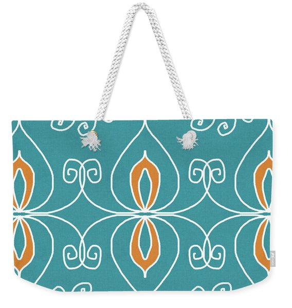 Boho Ornamental 3- Art By Linda Woods Weekender Tote Bag