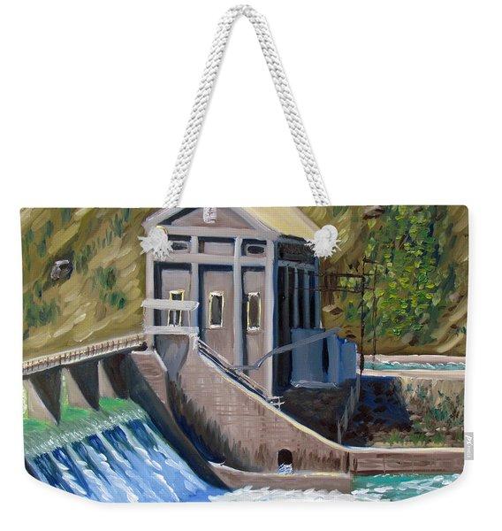 Boise Diversion Dam Weekender Tote Bag