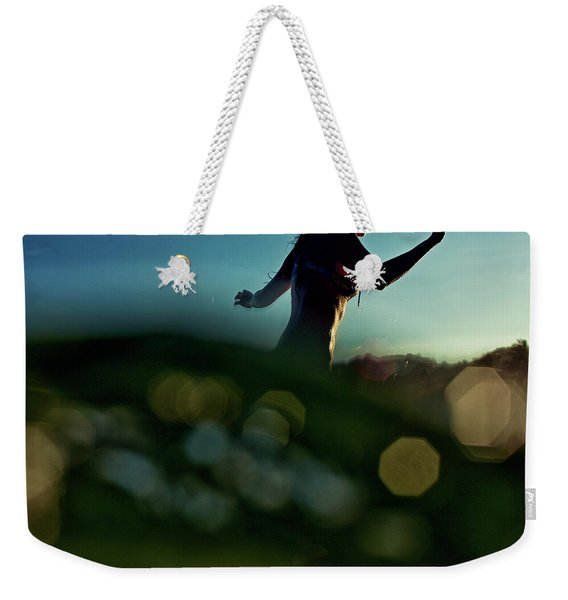 Bokeh Weekender Tote Bag