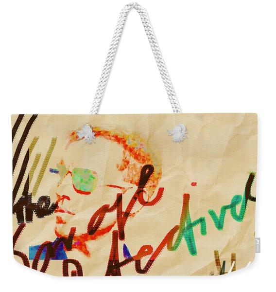 Bolano Savage Detectives Poster 2 Weekender Tote Bag