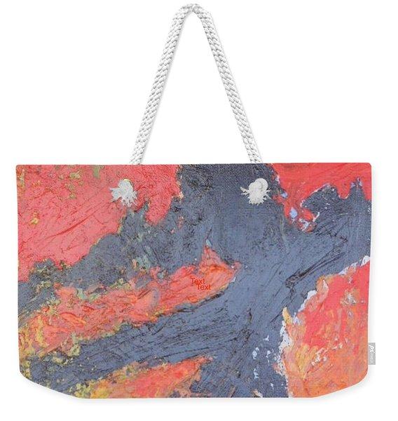 Bold Experiment Weekender Tote Bag