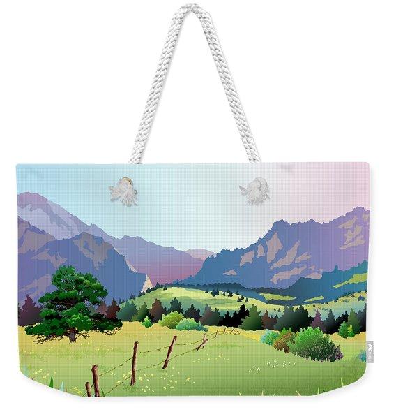 Bolder Boulder Poster 2009 Weekender Tote Bag
