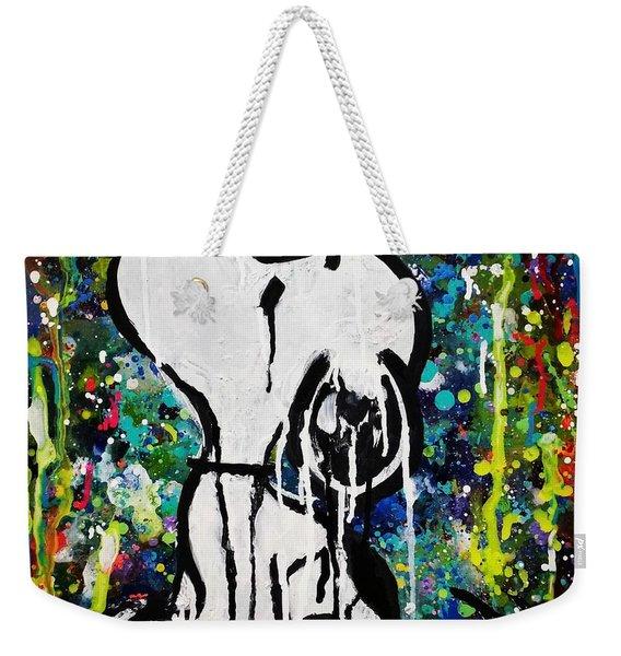 Bold.snoopy Weekender Tote Bag