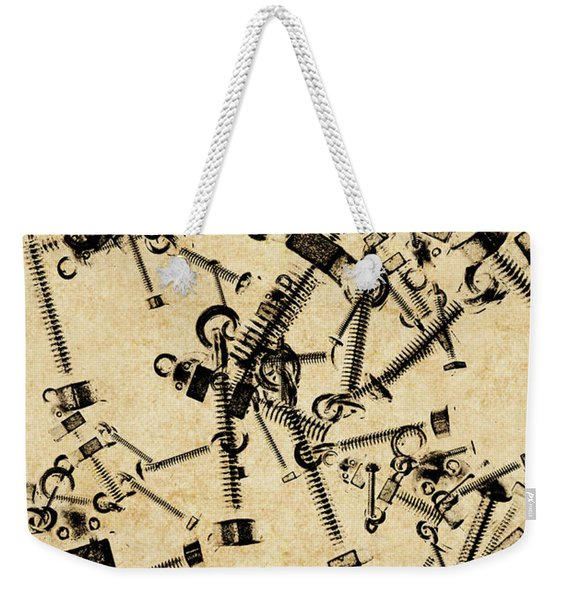 Bolt Action Bots Weekender Tote Bag