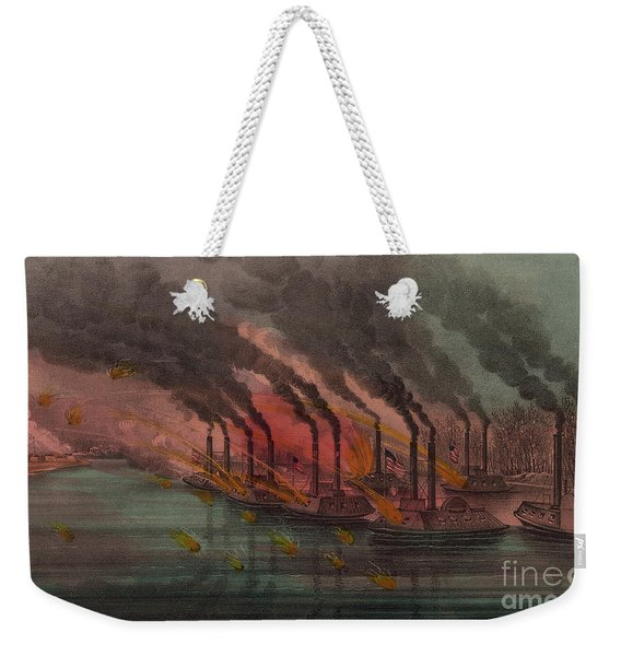 Bombardment And Capture Of Fort Henry, Tennessee Weekender Tote Bag
