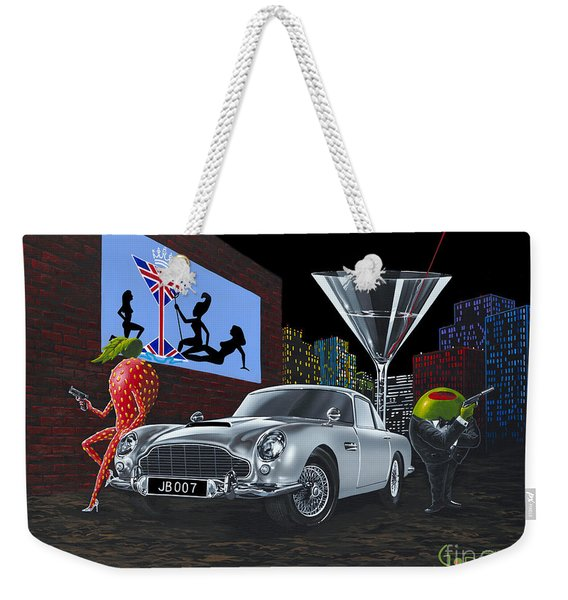 Bond Weekender Tote Bag