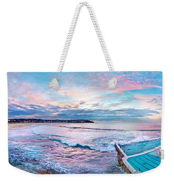 Bondi Beach Icebergs Weekender Tote Bag