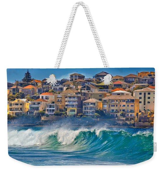 Bondi Waves Weekender Tote Bag