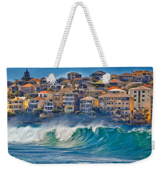 Bondi Waves Weekender Tote Bag