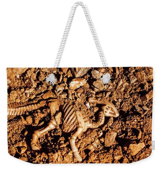Bones From Ancient Times Weekender Tote Bag