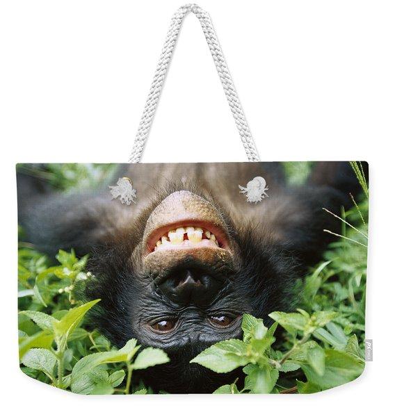 Bonobo Smiling Weekender Tote Bag