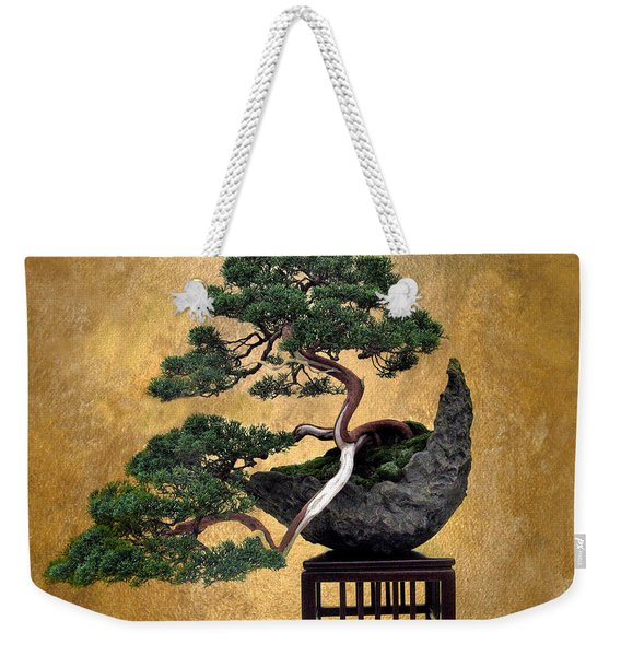 Bonsai 3 Weekender Tote Bag