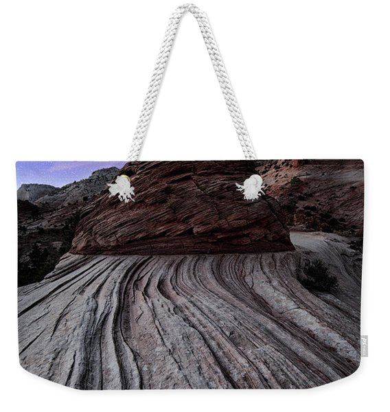 Bonzai In The Night Utah Adventure Landscape Photography By Kaylyn Franks Weekender Tote Bag
