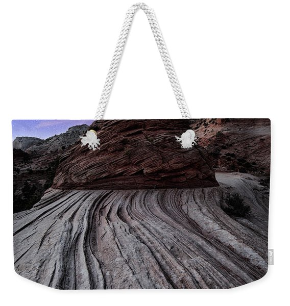 Bonzai In The Night Utah Adventure Landscape Photography By Kaylyn Franks Weekender Tote Bag
