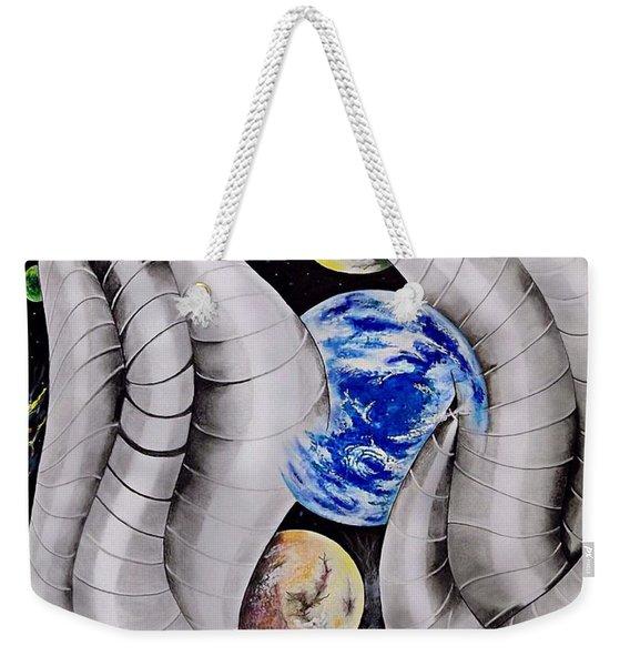 Boogie At The Space Bar Weekender Tote Bag