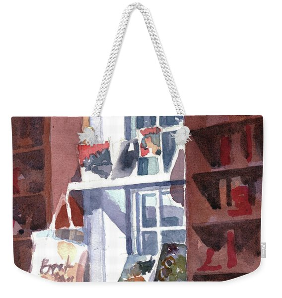 Book Bag Weekender Tote Bag