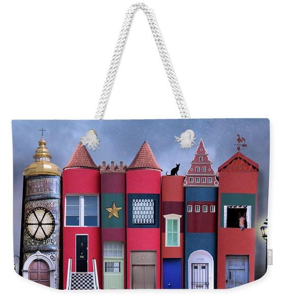 Book Houses Weekender Tote Bag