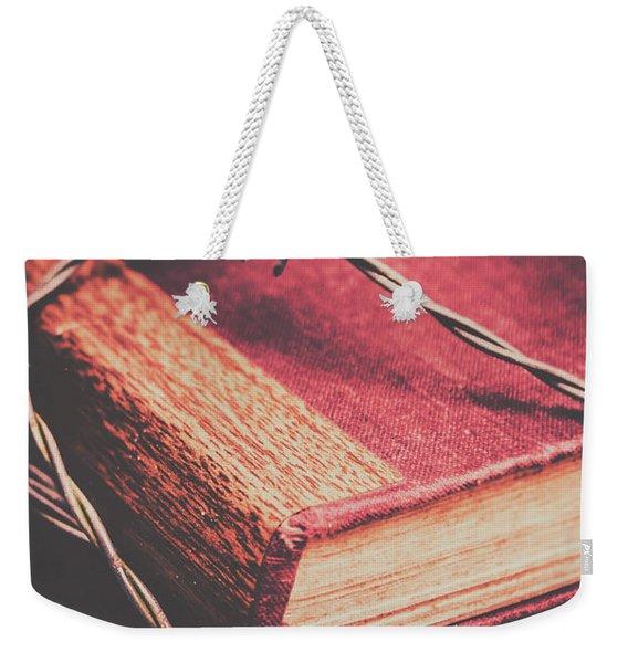 Book Of Secrets, High Security Weekender Tote Bag