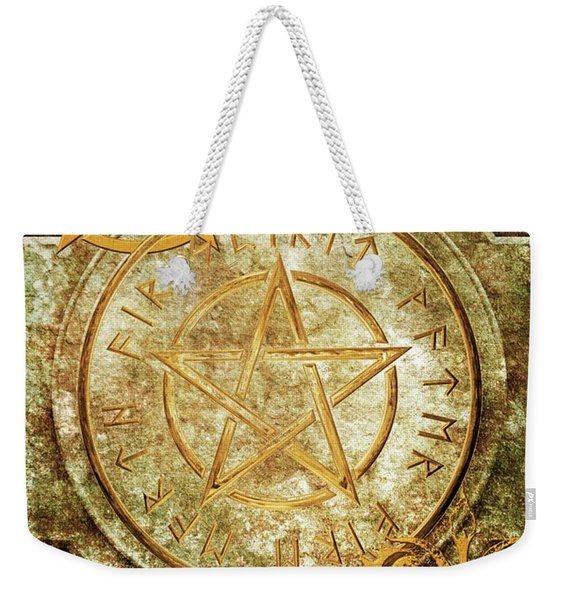 Book Of The Occult Weekender Tote Bag