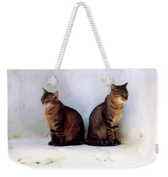 Bookends - Rdw250805 Weekender Tote Bag