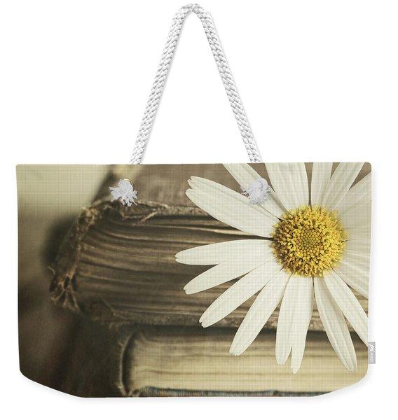 Bookmarked Weekender Tote Bag