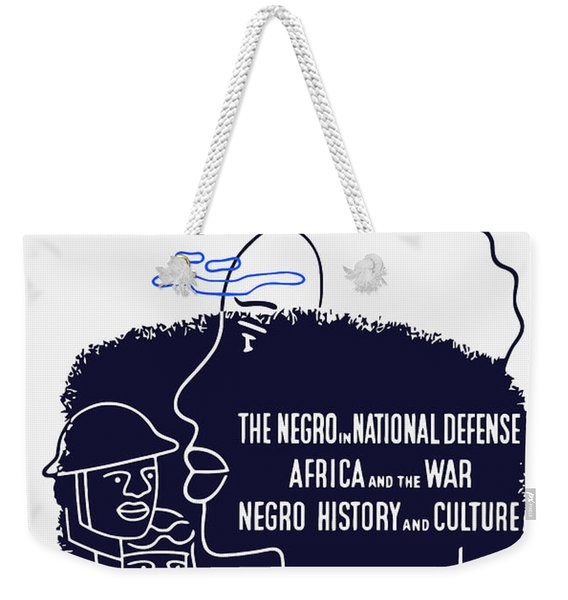 Books Are Weapons - Wpa Weekender Tote Bag