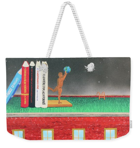 Books Of Knowledge Weekender Tote Bag