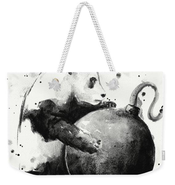 Boom Panda Weekender Tote Bag