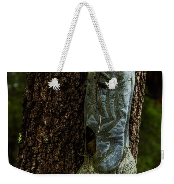Boot Nest Weekender Tote Bag