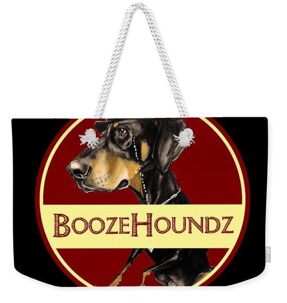 Boozehoundz Bottling Co. Weekender Tote Bag