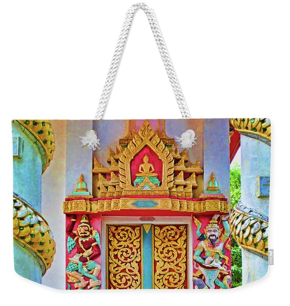 Bophut Temple In Thailand Weekender Tote Bag