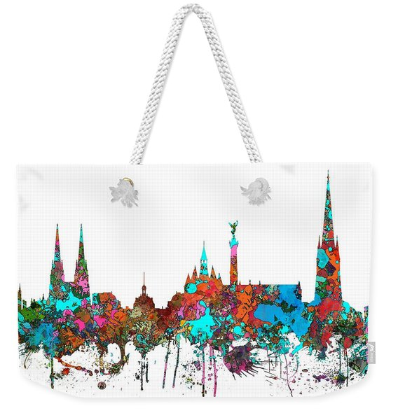 Bordeaux France  Skyline  Weekender Tote Bag