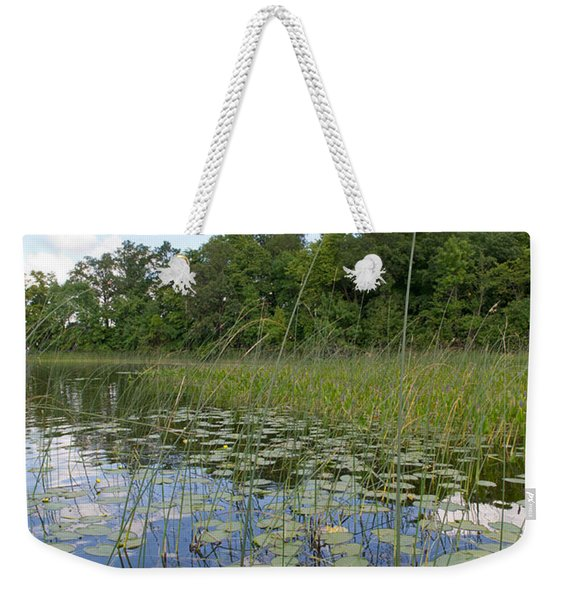 Borden Lake Lily Pads Weekender Tote Bag