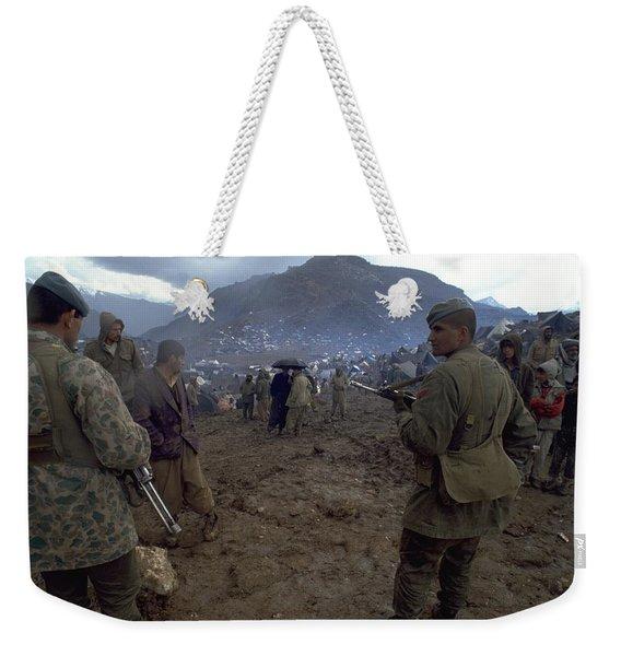 Border Control Weekender Tote Bag