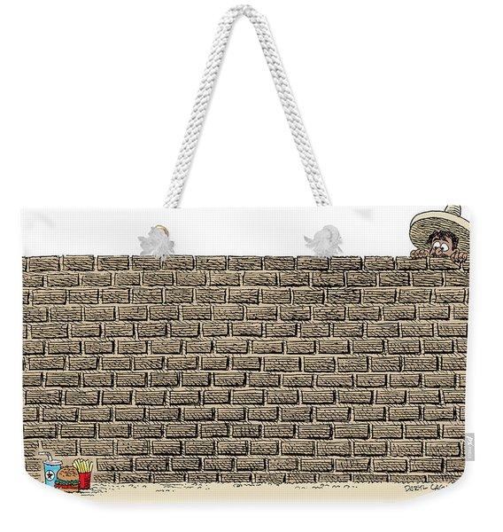Border Wall Weekender Tote Bag