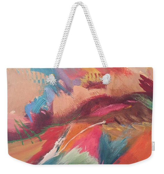 Borderland Weekender Tote Bag